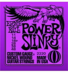 Cuerdas guitarra eléctrica Ernie Ball 11/48