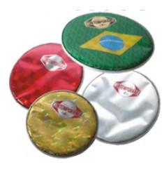"""Parche especial 10"""" bandera Brasil"""