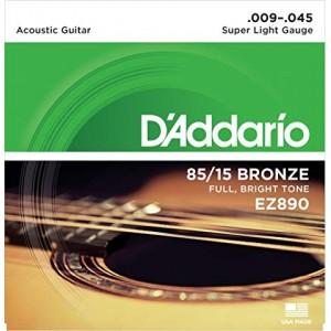 Cuerdas guitarra  D'addario...