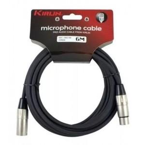 Cable micrófono 6m Kirlin XLR