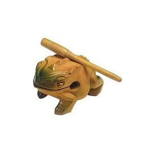 Ranita Guiro de madera