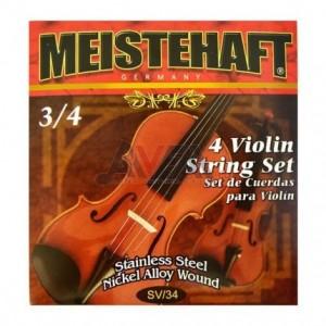 Cuerdas violin Mistehaft 3/4