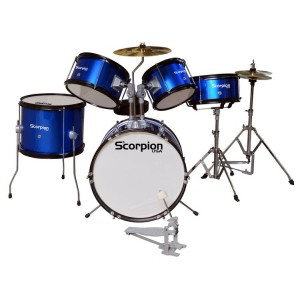 Bateria junior 5PCS azul...
