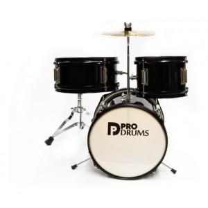 Bateria Pro Drums 3pcs negra