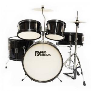 Bateria Pro Drums 5pcs Negra