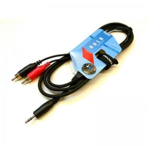 Cable RCA/Mini plug 1,8
