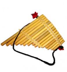 Flauta de pan de 15 tubos