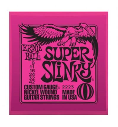 Cuerdas guitarra eléctrica Ernie Ball 9/42