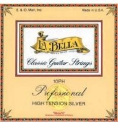 Cuerdas guitarra clásica La Bella 10PH