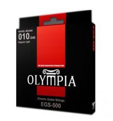 Cuerdas guitarra eléctrica Olympia 10-46