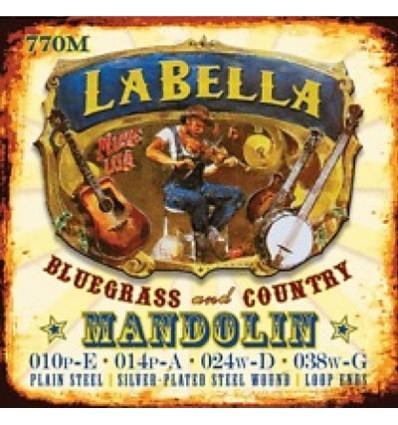 Cuerdas mandolina La Bella