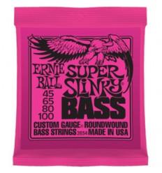 Cuerdas bajo eléctrico Ernie Ball 45/100