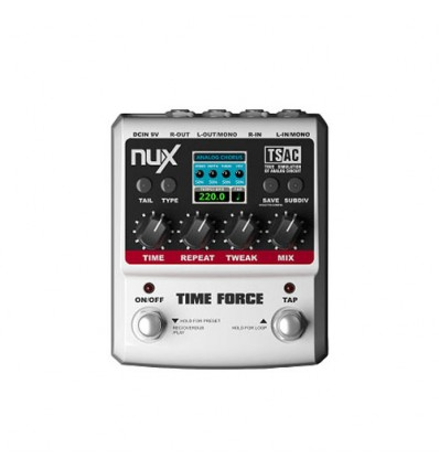 Pedalera Time Force Nux