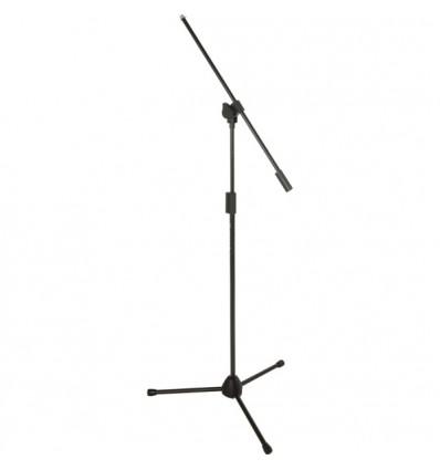 Atril de  micrófono negro