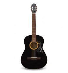 Guitarra acústica Vizcaya negra