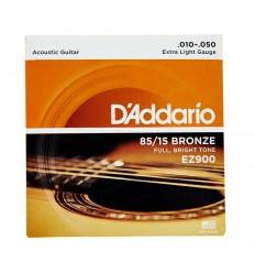 Cuerdas guitarra folk Daddario
